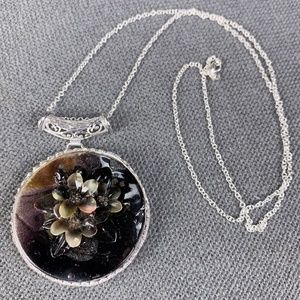Jewelry - cameo mother of pearl Sterling Silver 925 Necklace